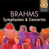 Brahms - Symphonies & Concertos (Standing Ovation Series) by Various Artists