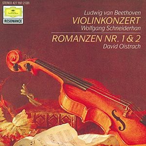 Beethoven: Violin Concerto op.61; Romance op.40 by Various Artists