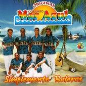 Play & Download Simplemente Boleros by Conjunto Mar Azul | Napster