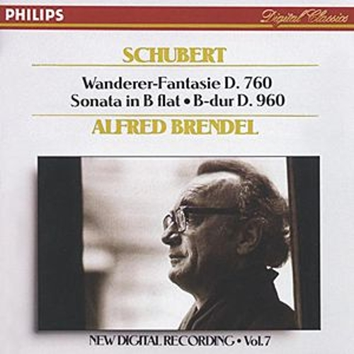 Play & Download Schubert: Piano Sonata in  flat, D.960/ 'Wanderer' Fantasie, D.760 by Alfred Brendel | Napster