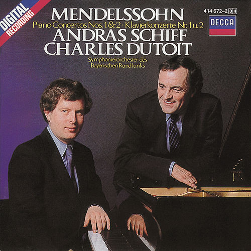 Play & Download Mendelssohn: Piano Concertos Nos.1 & 2 by András Schiff | Napster