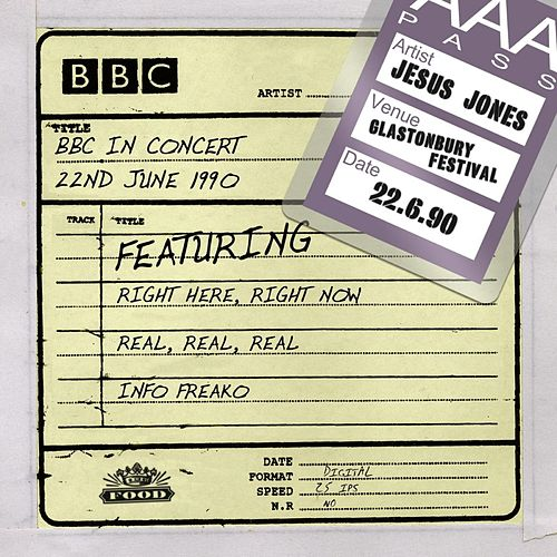 Play & Download BBC In Concert (22nd June 1990) by Jesus Jones | Napster