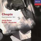 Play & Download Chopin: Piano Concertos Nos.1 & 2 by Jorge Bolet | Napster