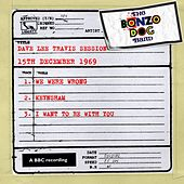 Dave Lee Travis Session (15th December 1969) by The Bonzo Dog Doo Dah Band
