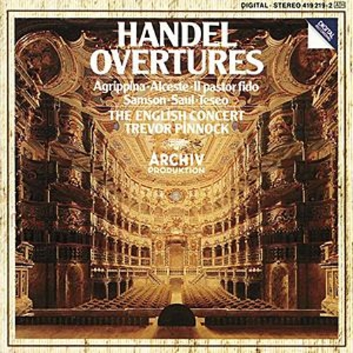 Handel: Overtures by Various Artists