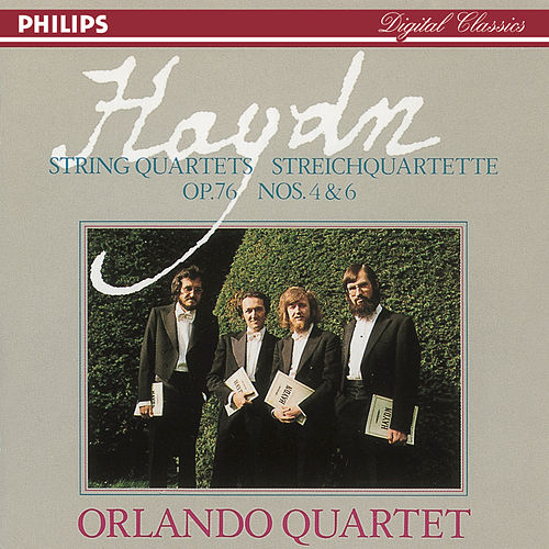 Haydn: String Quartets, Op. 76 Nos. 4 & 6 by Orlando Quartet