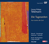 Play & Download Telemann: Die Tageszeiten - Nun danket alle Gott by Gotthold Schwarz | Napster