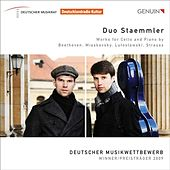 Play & Download Duo Staemmler - Works for Cello and Piano by Beethoven, Myaskovsky, Lutoslawski, Strauss by Duo Staemmler | Napster