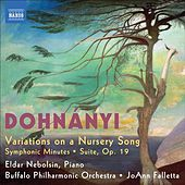 Play & Download Dohnanyi: Variations on a Nursery Song by JoAnn Falletta | Napster