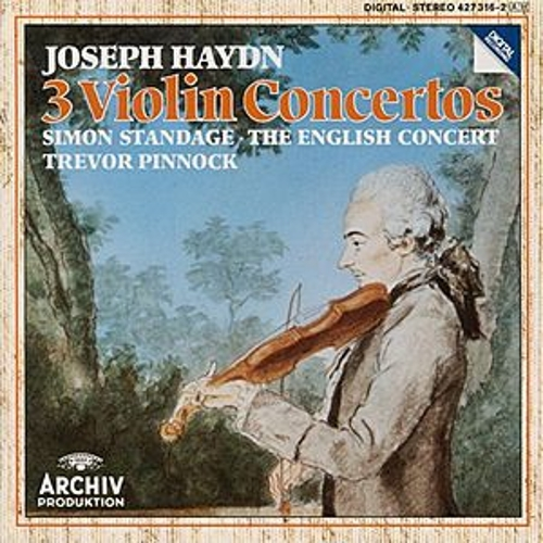 Play & Download Haydn: Violin Concertos In C Major Hob.VIIa: 1, In G Major Hob. VIIa: 4, In A Major Hob. VIIa: 3/ Salomon: Romance in D Major by Simon Standage | Napster