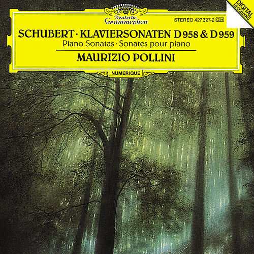 Play & Download Schubert: Piano Sonatas D958 & D959 by Maurizio Pollini | Napster
