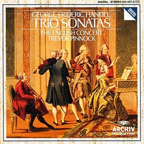Handel: Trio Sonatas by Various Artists