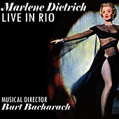 Live In Rio by Marlene Dietrich