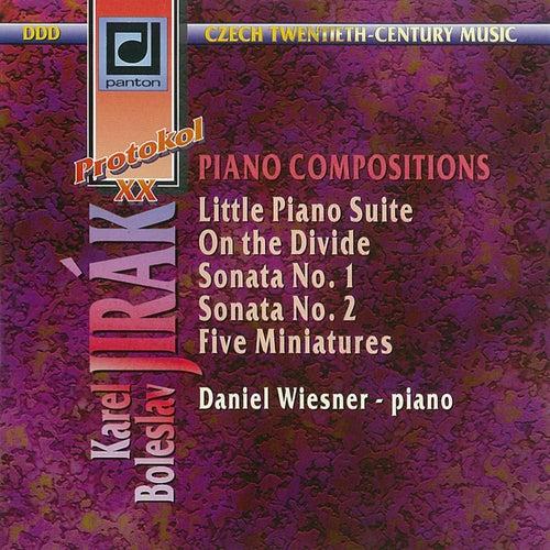 Play & Download Jirak: Piano Works by Daniel Wiesner | Napster