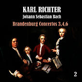 Bach: Brandenburg Concertos, No. 3,4,6 by Karl Richter