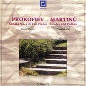 Prokofiev / Martinu:  Piano Works by Daniel Wiesner