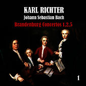 Bach: Brandenburg Concertos No. 1,2,5 by Karl Richter