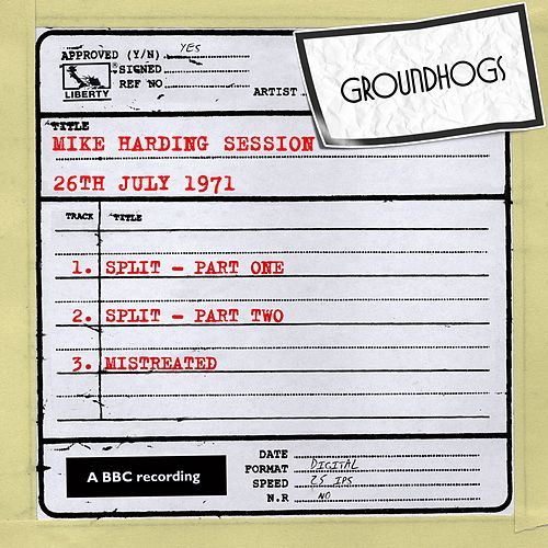 Play & Download Mike Harding Session (26th July 1971) by The Groundhogs | Napster