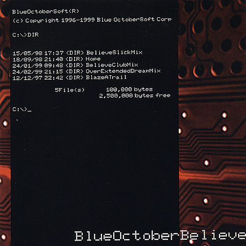 Play & Download Believe by Blue October (UK) | Napster