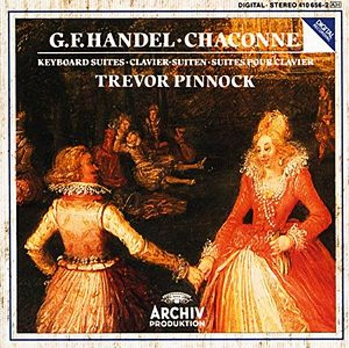 Handel: Chaconne In G Major For Harpsichord, HWV 435; Keyboard Suites by Trevor Pinnock