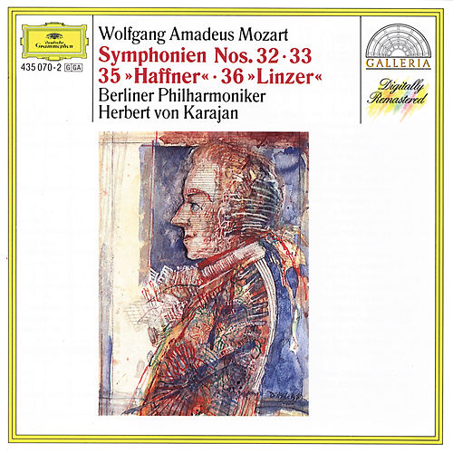 Play & Download Mozart: Symphonies Nos.32, 33, 35 'Haffner' & 36 'Linz' by Berliner Philharmoniker | Napster
