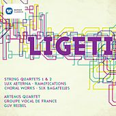 Gyorgy Ligeti - String Quartets 1 & 2 by Various Artists