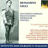 Vocal Recital: Gigli, Beniamino - Verdi, G. / Massenet, J. / Puccini, G. / Bizet, G. (Complete Collection of Opera Highlights, Vol. 3) (1930-1941) by Various Artists
