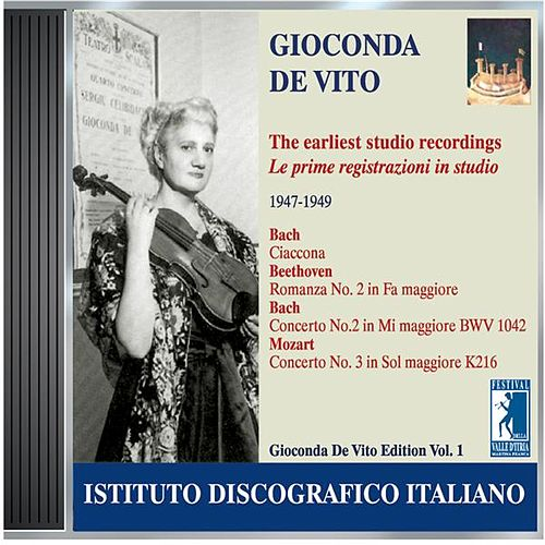 Play & Download De Vito, Gioconda: Earliest Studio Recordings (1947-1949) by Various Artists | Napster