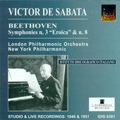 Beethoven, L. Van: Symphonies Nos. 3 and 8 (De Sabata) (1946, 1951) by Victor de Sabata