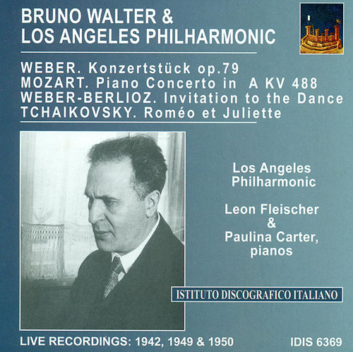 Play & Download Mozart, W.A.: Piano Concerto No. 23 / Weber, C.M. Von: Konzertstuck, Op. 79 / Tchaikovsky, P.I.: Romeo and Juliet (Walter) (1942, 1949, 1950) by Bruno Walter | Napster