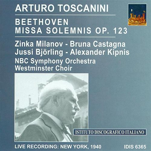 Play & Download Beethoven, L. Van: Missa Solemnis (Toscanini) (1940) by Various Artists | Napster