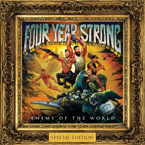 Play & Download Enemy Of The World by Four Year Strong | Napster