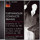 Brahms, J.: Symphony No. 1 / Double Concerto, Op. 102 (Furtwangler) (1950, 1952) by Various Artists