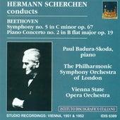 Beethoven, L. Van: Symphony No. 5 / Piano Concerto No. 2 (Badura-Skoda, Scherchen) (1951, 1952) by Various Artists