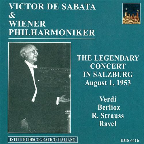 Play & Download Verdi, G.: Overture To I Vespri Siciliani / Berlioz, H.: Le Carnaval Romain / Strauss, R.: Tod Und Verklarung (Vienna Philharmonic, De Sabata) (1953) by Victor de Sabata | Napster