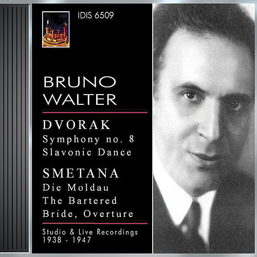 Dvorak, A.: Symphony No. 8 / Slavonic Dance No. 1, Op. 46 / Smetana, B.: Moldau / Overture To The Bartered Bride (Walter) (1938, 1941, 1947) by Bruno Walter