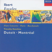 Ibert: Escales/Concerto for Flute & Orchestra/Hommage à Mozart/Suite by Various Artists