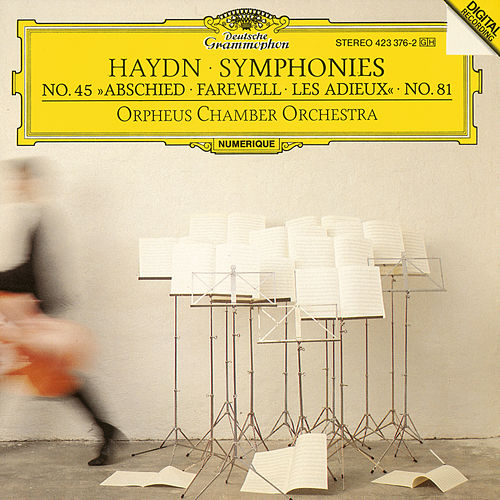 Play & Download Haydn, J.: Symphonies Nos.Hob.I:81 & Hob.I:45 'Farewell' by Orpheus Chamber Orchestra | Napster