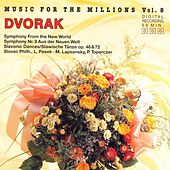 Play & Download Music For The Millions Vol. 8 - Antonin Dvorak by Various Artists | Napster