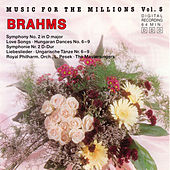 Music For The Millions Vol. 5 - Johannes Brahms by Various Artists