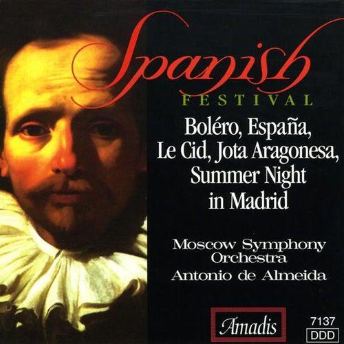 Chabrier / Glinka / Massenet / Ravel: Spanish Festival by Antonio de Almeida