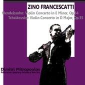 Mendelssohn: Violin Concerto in E Minor, Op. 64 - Tchaikovsky: Violin Concerto in D Major, Op. 35 by New York Philharmonic