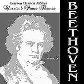 Classical Piano Themes Beethoven Volume 3 by Grayson Classical All Stars