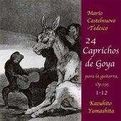 24 Caprichos de Goya : No.1-12 <August 4,1989 World Premiere Recording> by Kazuhito Yamashita