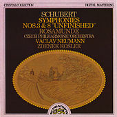 Schubert: Symphony No. 3, Symphony No. 8 & Rosamunde Incidental Music by Czech Philharmonic Orchestra