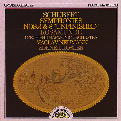 Play & Download Schubert: Symphony No. 3, Symphony No. 8 & Rosamunde Incidental Music by Czech Philharmonic Orchestra | Napster