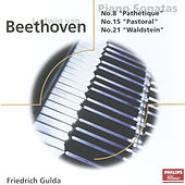 Play & Download Beethoven: Piano Sonatas Nos. 8, 15, 21, & 22 by Friedrich Gulda   Napster