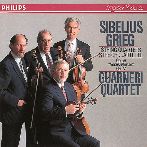 Play & Download Sibelius/Grieg: String Quartets by Guarneri Quartet | Napster