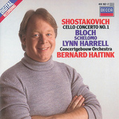 Play & Download Shostakovich: Cello Concerto No.1/Bloch: Schelomo by Lynn Harrell | Napster