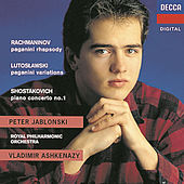 Play & Download Rachmaninov/Shostakovich/Lutoslawski: Rhapsody on a Theme of Paganini/Piano Concerto No.1/Paganini Vars by Peter Jablonski | Napster